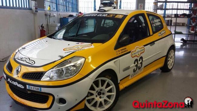 La Renault Clio R3c dell' Ivan De Varti Racing Team