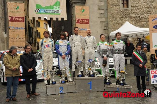 Arrivo Rally del Ciocco 2013
