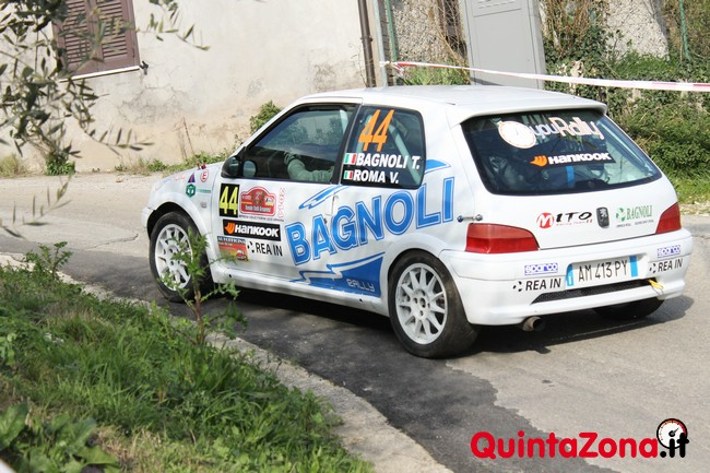 Bagnoli-Roma in azione al Rally Valli Arnaresi