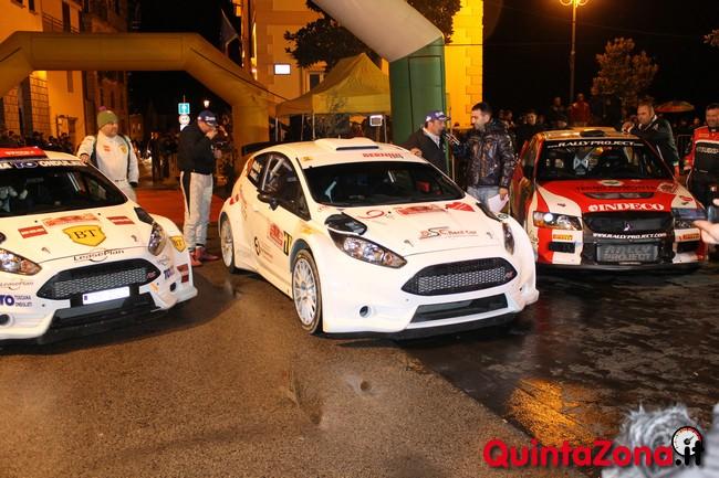L'arrivo del Rally Ronde Valli Arnaresi
