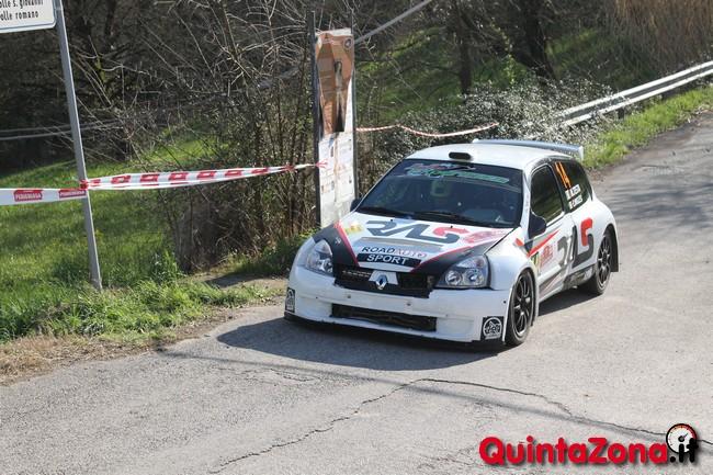 Mario Testa al Rally Valli Arnaresi