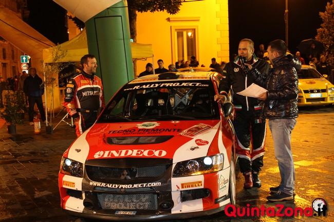 Max Rendina al Rally Valli Arnaresi