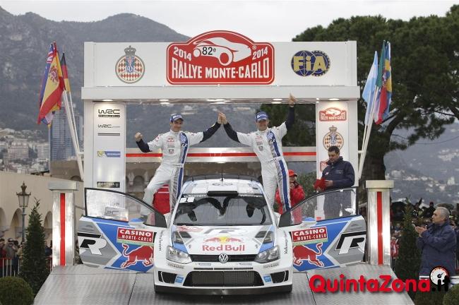 Ogier vince il Rally di Monte Carlo