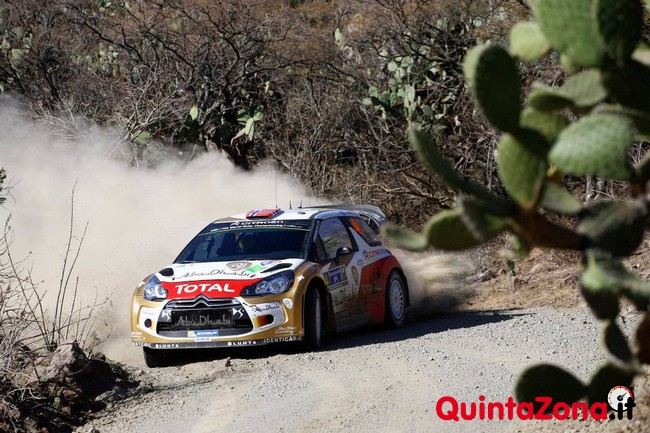Mads Ostberg Rally Messico 2014