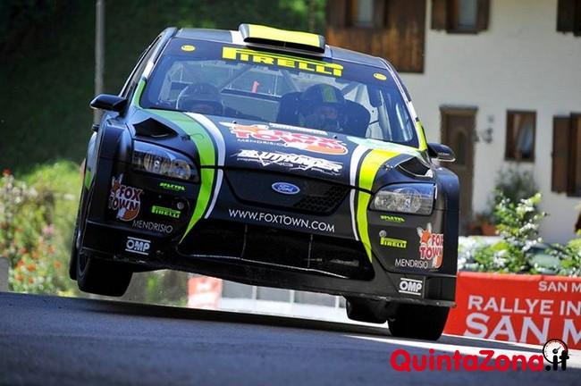 Paolo Porro Ford Focus WRC