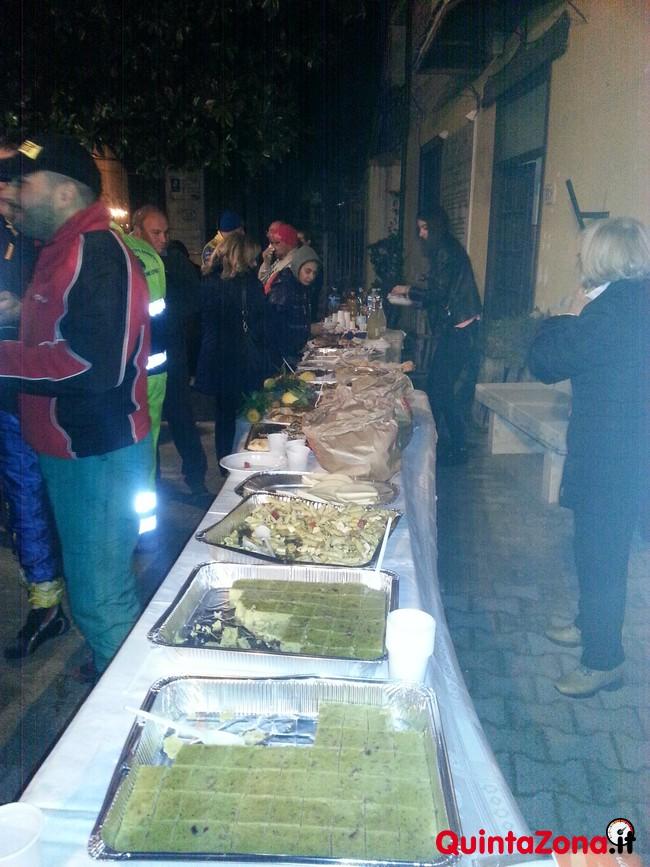 Il buffet a San Potito Sannitico