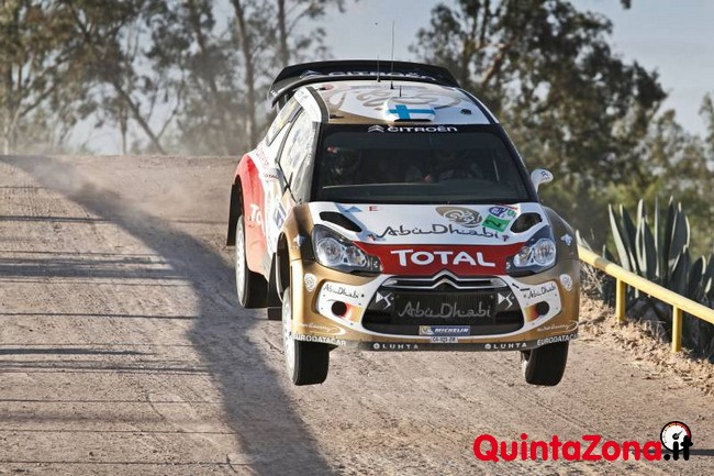 Citroen DS3 WRC al Rally Mexico