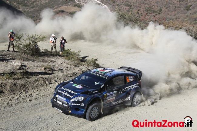 Evans Rally Messico