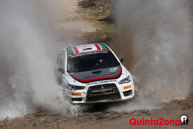 Max Rendina al Rally Messico