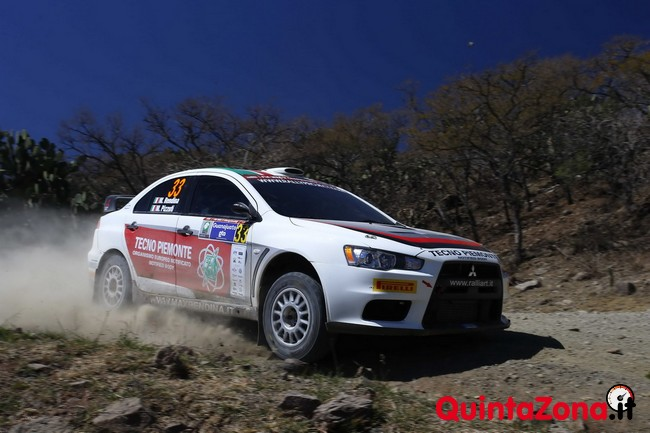 Max Rendina Rally Messico 2014