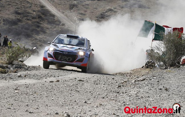Thierry Neuville Rally Messico