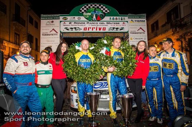 Fabio Gianfico vince il Rally del Matese