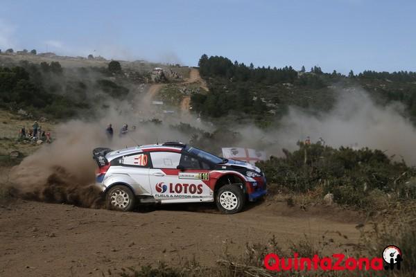 Robert Kubica Rally Italia Sardegna