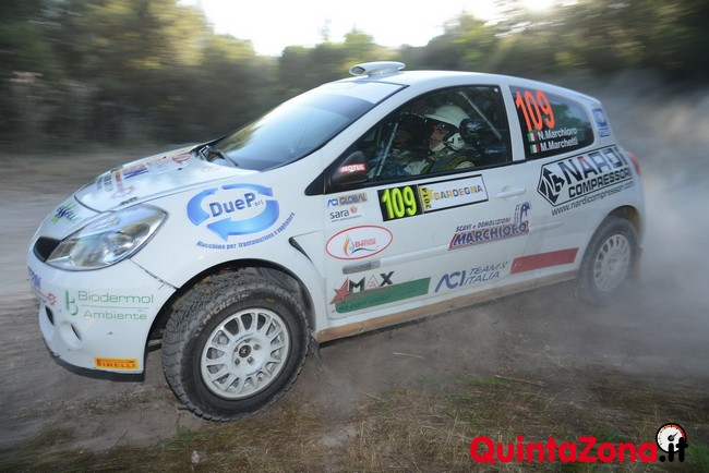 Niccolò Marchioro Rally Sardegna