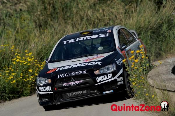 Andrea Perego, Daniele De Luis (Mitsubishi Lancer Evo X, #2 Pro Racing Srl)