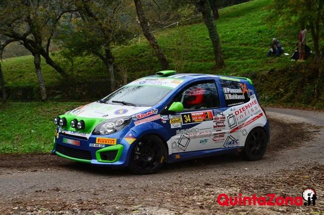 Luca Panzani Vincitore Trofeo Twingo