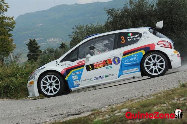 Paolo Andreucci Campione Italiano Rally