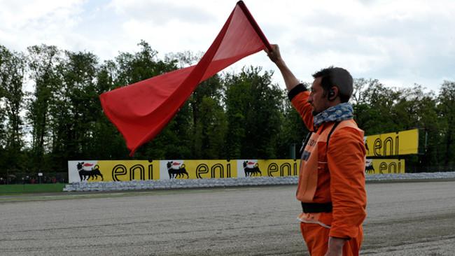 Bandiera rossa Rally