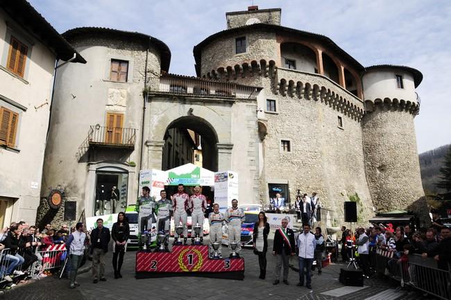 Rally Il Ciocco 2014 cerimonia arrivo