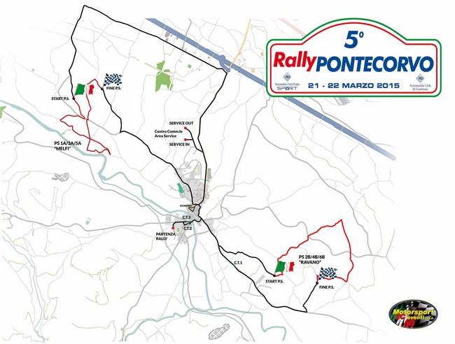 cartina rally