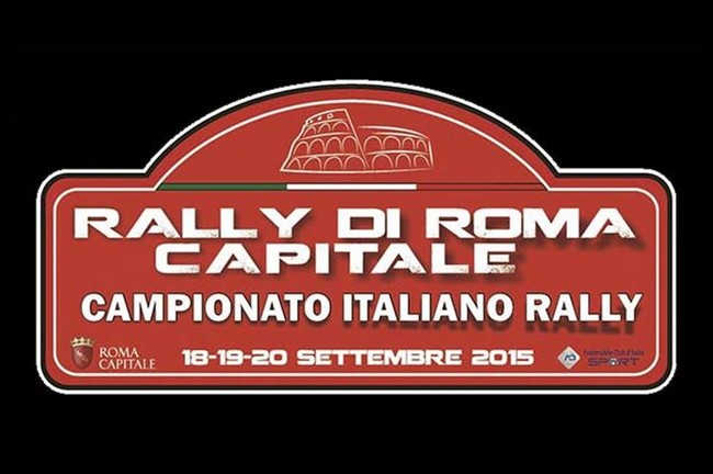 logo Rally RomaCapitale 2015