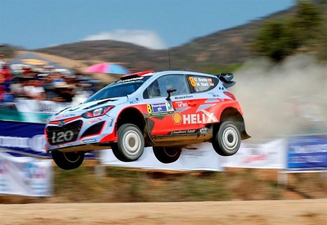 Fontana con Hyundai WRC