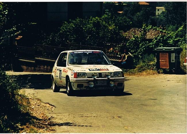 De Pierro - Campana, Rally di Ceccano '89