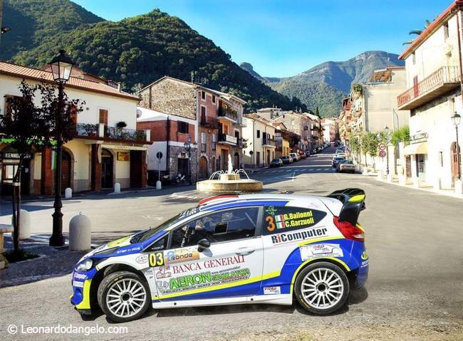 Gianluca Bailonni Rally di Supino