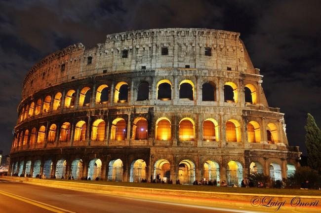 Colosseo Roma - photo credit Luigi Onorii