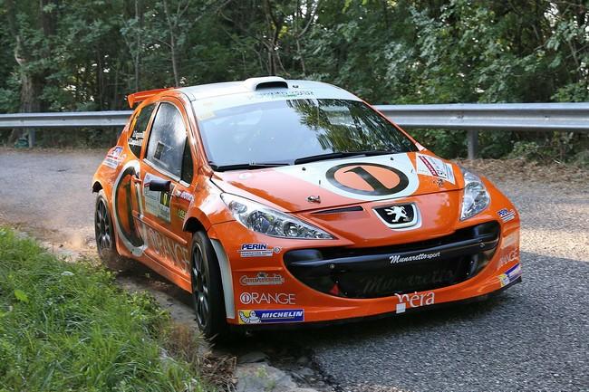 Simone Campedelli, Danilo Fappani (Peugeot 207 S2000 #6, Accademy Asd)