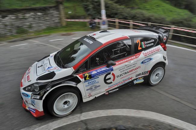Manuel Sossella, Gabriele Falzone (Ford Fiesta WRC #2, Palladio)