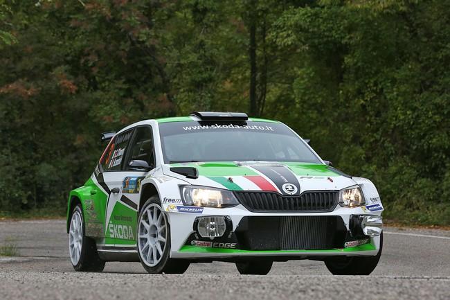 Umberto Scandola, Guido Damore (Skoda Fabia R5 #3, Car Racing)