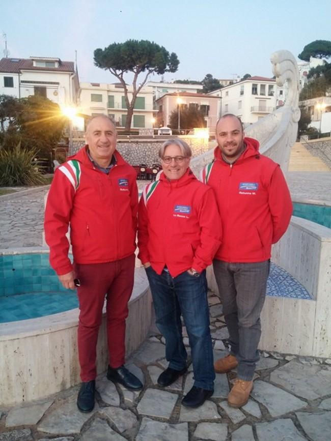 da sx Quirino Rotunno, Leo la Rocca e Mauro Rotunno