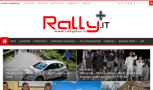 Screenshot RallyPlus