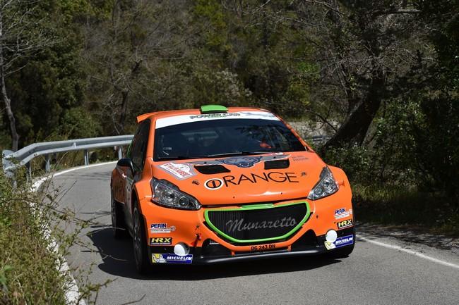 Simone Campedelli, Danilo Fappani (Peugeot 208 R5 #9, Accademy Asd)