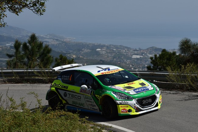Alessandro Perico, Mauro Turati (Peugeot 208 T16 R5 #4, Pa Racing)