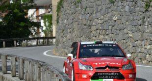 Luca Pedersoli, Anna Tomasi (Citroen C4 WRC #3)